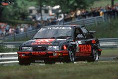 Winners of the 24 Hours Race at the Nürburgring – 1987: Ludwig/Niedzwiedz/Soper - Eggenberger-Ford Sierra Cosworth