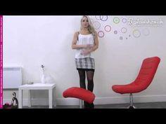 Legslavish UK » Gabrielle models Pierre Mantoux Setificato 40 tights