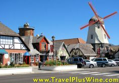 Solvang, CA  Cute little Dutch town...Yummy food and wine tasting..