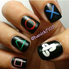Nails Art - Playstation