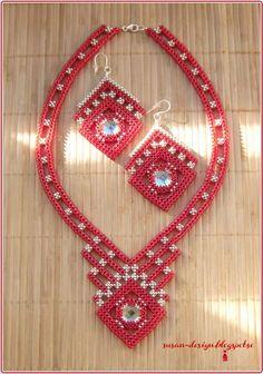 Mina smycken: Rubinröd CRAW