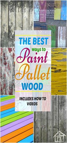 Best Pallet Wood Painting & Distressing Tips http://www.uk-rattanfurniture.com/product/tectake-rattan-day-bed-sun-canopy-lounger-recliner-garden-furniture-patio-terrace-different-colours-multi/