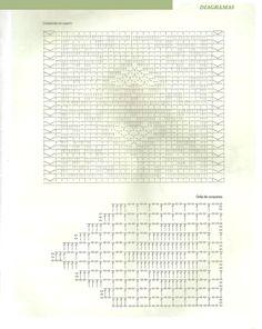 Jersey romantico ganchillo con dibujos tutorial - Patrones Crochet
