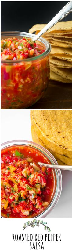 This vibrant salsa is made without tomatoes, and brightens up anything and everything!