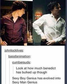 "742 Likes, 7 Comments - Flin Flon the Human ✨ (@dat_sherlock_boi) on Instagram: ""Omg when I heard Ben put on weight to show how living with John helped Sherlock I cried And I…"""