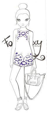 topmodel zum drucken 15 | fashion coloring | pinterest | bullet drawing and bullet