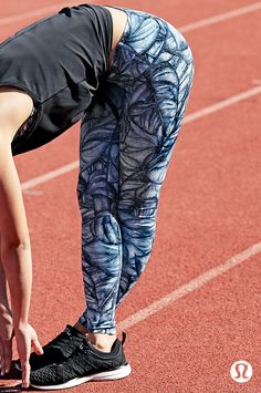 Sweat it out in beautiful prints and technical fabrics.