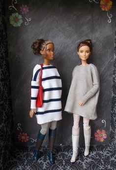 Barbie Kleidungsmuster, Barbie Mode, Barbie Dolls Diy, Barbie Fashionista Dolls, Barbie Dress, Dolls Dolls, Girl Dolls, Sewing Barbie Clothes, Barbie Clothes Patterns