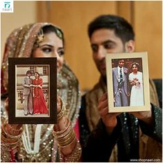 Love this idea , holding their parents wedding pictures up OR for anniversary shoot hold up a photo from their wedding day India Wedding, Sikh Wedding, Punjabi Wedding, Wedding Ceremonies, Farm Wedding, Wedding Dresses, Boho Wedding, Wedding Goals, Wedding Couples