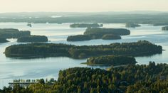 A view over the lake in Kuopio. Looking out from the sky-tower, this area reminded me of the islands in the Canadian/U.S. St. Lawrence Seaway where we would run our boat and seadoos around all the islands in a similar cluster. So much fun, great times.