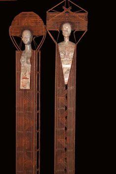patrick vogel's figurative sculpture