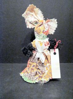 Hand Made New Orleans Doll Bell