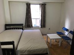 Room for rent for Girls near Sheridan college - Sheridan College Off Campus Rooms for Rent Sheridan College, Rooms For Rent, Bed Mattress, Double Beds, Laundry Room, Wi Fi, Distance, Walking, Chair