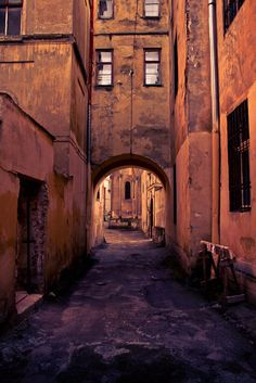 Lviv Ukraine,  when I visited there 5yrs ago I walked through a lane way just like this one to get to the shops and bus/ taxi stop. So much history around every corner. Wish I could go back. Natalie Mc.