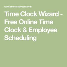 free employee time tracking app for android and iphone