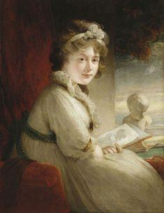Sir William Beechey (1753-1839) - Princess Mary (1776-1857) 1795-97
