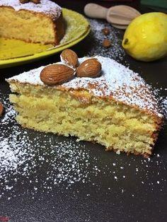 Almond and lemon cake . gluten free-Mandel-Zitronenkuchen…glutenfrei Almond and lemon cake … gluten-free – baking with passion - Gluten Free Cakes, Gluten Free Baking, Gluten Free Recipes, Baking Recipes, Cake Recipes, Snack Recipes, Brownie Recipes, Patisserie Sans Gluten, Dessert Sans Gluten