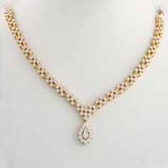Indian Diamond Necklace See more stunning jewelry at http://RadiantRings.net! #jewelry