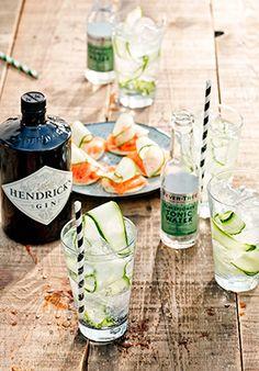 Gall & Gall Cocktails |Albert mixt: Hendrick's & Fever Tree Elderflower| &Mix |www.Gall.nl