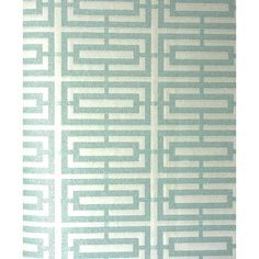 Osborne & Little Kikko Trellis Wallpaper ($165) ❤ liked on Polyvore featuring home, home decor, wallpaper, trellis wallpaper, geometric pattern wallpaper, beige wallpaper, aqua home decor and metallic wallpaper