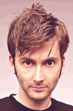 David Tennant. His. Hair.
