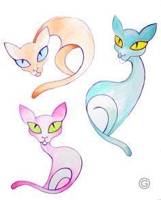 The Cats by Oksana Oxy Gen Gatalskaya