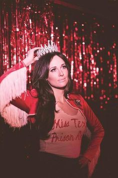 Kacey Musgraves.  Anything she sings.  Just anything.