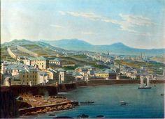 Anonimo, Genova.San Teodoro, prima metà del XIX sec, incisione acquarellata