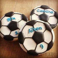 Soccer balls | Cookie Connection