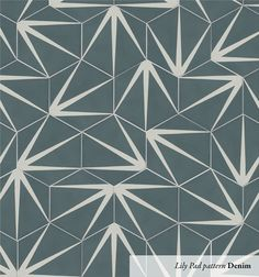 Lily Pad is a hexagonal shaped tile available in three striking colours. These wonderfully inventive tiles can be rotated to make up to three entirely different designs. tiles per square metre. Sold in boxes of tiles Tiles Uk, Hexagon Tiles, Hexagon Pattern, Terrazzo Tile, Tile Flooring, Cement Tiles, Porcelain Tiles, Encaustic Tile, Up House