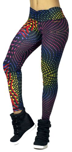 Super cute yoga leggings, workout clothes for women.
