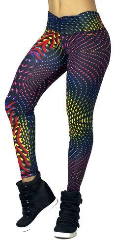 Super cute yoga leggings, workout clothes for women.