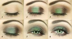 #Autumnal #Forest #Makeup #Tutorial :http://ow.ly/pYwKR <3 Join our online #beauty #community : http://www.glam-express.com/