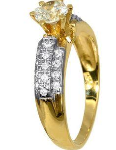 ΧΡΥΣΑ ΚΟΣΜΗΜΑΤΑ 012826 Χρυσός 14 Καράτια #moda #style #sales Discus, Engagement Rings, Jewelry, Fashion, Enagement Rings, Moda, Wedding Rings, Jewlery, Jewerly