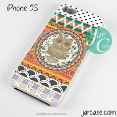 owl aztec art Phone case for iPhone 4/4s/5/5c/5s/6/6 plus