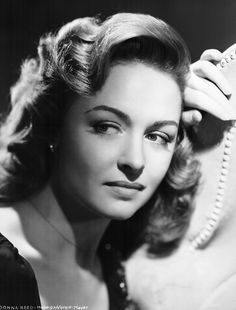 """Donna Reed; Academy Award for """"From Here to Eternity"""" (Best Supporting Actress)"""