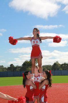 Stony Brook University Cheerleaders Stony Brook University, Cheerleading, Athlete, Style, Swag, Stylus, Outfits, Competitive Cheerleading