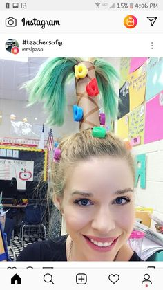 Crazy Hair Day - Chicka Chicka Boom Boom (love it!) - Crazy Hair Day – Chicka Chicka Boom Boom (love it!) Crazy Hair Day – Chicka Chicka Boom Boom (love it! Crazy Hair Day At School, Crazy Hair Days, Crazy Day, Crazy Hair Day For Teachers, Crazy Hair Day Girls, Easy Toddler Hairstyles, Little Girl Hairstyles, Summer Hairstyles, Crazy Hairstyles