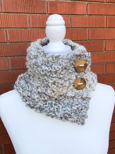 Wool-blend, handmade and cozy. Teacher Fashion, Teacher Style, Neck Warmer, Handmade Wooden, Knits, Wool Blend, Cowl, Fashion Ideas, Two By Two