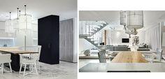 Una casa moderna, simple y blanca ¡muy blanca! - http://www.decoora.com/una-casa-moderna-simple-blanca/