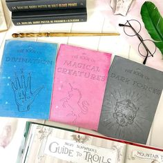 Magical Creatures Notebooks  Harry Potter