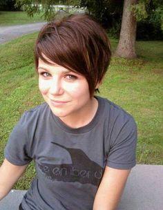 Super Cute Short Haircuts: Straight Hair