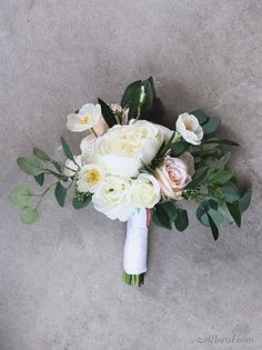 Silk Flower Wedding Bouquet Make Your Own Bridal With Fake Flowers From Afloral