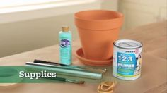 How to Paint Terra-Cotta Pots