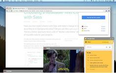 Panel Tabs: Páginas web como paneles flotantes en el escritorio