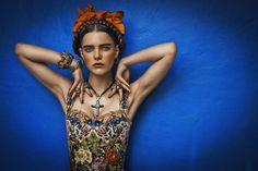Frida Kahlo inspired photo.