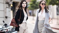 8 Ways To Layer Your Office Clothes Without Dying From The Heat