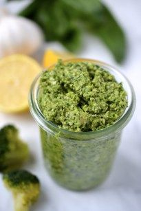 Broccoli Pesto (Paleo, Whole30, Vegan, Dairy Free, Gluten Free)