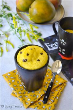 Eggless Mango Mug Cake- I don't know about this one, it sounds kinds..... interesting.............