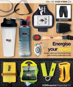 Want more brand awareness? Turn to the fitness market! Check out our awesome collection of promotional fitness products > http://www.completemerchandise.co.uk/snapshot-categories/snapshot-car-accessories-december-15.html